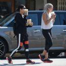 Vanessa Hudgens in Spandex heading to the gym in LA - 454 x 465