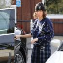 Laura Dern – Out in Brentwood with her daughter Jaya Harper