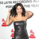 Lali Esposito- The Latin Recording Academy's 2018 Person Of The Year Gala Honoring Mana - Red Carpet - 400 x 600