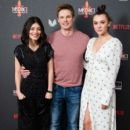 Alessandra Mastronardi attends the premiere of