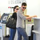 Sophia Bush - At LAX Airport With Austin Nichols - Aug 5 2009