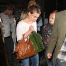 Billie Piper Leaving The Groucho Club In London, 26 May 2010