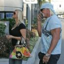 Hulk Hogan and Jennifer Mcdaniel Leaves LAX