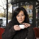 Shannen Doherty Portraits While Shopping In Paris, November 9 2009