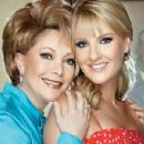 Chantal Andere with actress mother Jacqueline