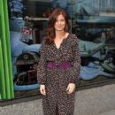 Debra Messing  at Herald Square New york