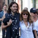 Russell Brand and Jemima Khan - 454 x 302
