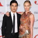 Kate Bosworth attend the 2012 CFDA Fashion Awards at Alice Tully Hall on June 4, 2012 in New York City