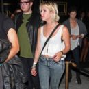 Ashley Benson was seen leaving Bootsy Bellow last night, July 29, in Los Angeles. The young star was joined by a friend and fellow actor, Chord Overstreet
