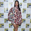 Candice Patton – 'The Flash' Press Line at Comic Con San Diego 2019 - 454 x 615