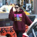 Kendall Jenner – Heads to the gym in New York City