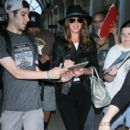 Brooke Shields seen at LAX