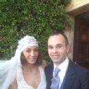 Andrés Iniesta and Anna Ortiz - Wedding - 354 x 523