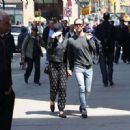Anne Hathaway With Her Husband Out In Nyc