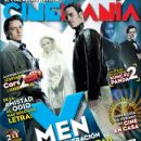 James McAvoy, Michael Fassbender, January Jones - Cinemanía Magazine Cover [Mexico] (June 2011)