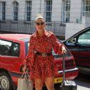 Megan Barton-Hanson in Mini Dress – Out in London - 454 x 708