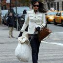 Famke Janssen - Candids In New York City, 05.12.2007.