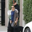 Nicole Richie and Joel Madden out shopping with their dog in West Hollywood, California on December 27, 2013 - 433 x 594