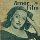 Bette Davis - Amor Film Magazine Cover [France] (15 September 1953)