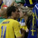 Johan Elmander and Amanda Elmander - 454 x 407