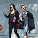 Nina Dobrev – Leaving a Gym in West Hollywood 10/13/ 2016