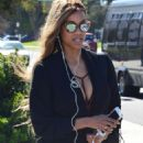 Tyra Banks out in Beverly Hills