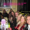 Jani Lane, Sheila Lussier at Sheila's Bday party