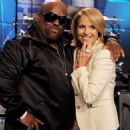 "Katie Couric Drops By ""The Tonight Show"""