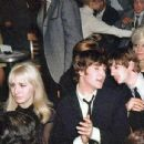 Cynthia Lennon, John Lennon and Ringo Starr