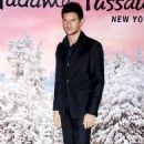 Taylor Lautner's wax figure unveiling in NYC (November 16)