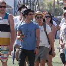 Nick & Joe Jonas COACHELLA BROS (April 13)