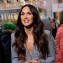 Megan Fox – On the set of 'Extra' in New York City