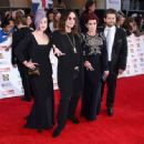 Kelly Osbourne, Ozzy Osbourne, Sharon Osbourne and Jack Osbourne attend the Pride of Britain awards at The Grosvenor House Hotel on September 28, 2015 in London, England. - 454 x 334