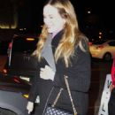 Danielle Panabaker – Out for dinner at Craig's in West Hollywood