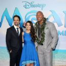 Dwayne Johnson- November 14, 2016- The World Premiere of Disney's 'Moana' - 414 x 600