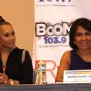 Vivica A. Fox attends the 2017 BE EXPO at the PA Convention Center in Philadelphia, Pennsylvania on March 25, 2017 - 454 x 318