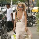 Rita Ora in Long Dress out in New York City - 454 x 681