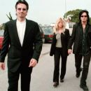Nikki Sixx & Donna D'Errico with Tommy Lee