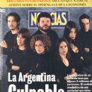 Susú Pecoraro, Mercedes Morán, Alfredo Casero, Fernán Mirás, Soledad Villamil, Gabriela Toscano, Diego Peretti - Noticias Magazine Cover [Argentina] (June 2001)