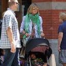 Heidi Klum Takes A Stroll Around New York City June 30, 2010