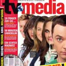 Emily Deschanel, Jim Parsons, Ellen Pompeo, Zooey Deschanel, Simon Baker - TVMedia Magazine Cover [Austria] (15 October 2014)