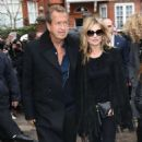 Kate Moss Burberry Fashion Show In London