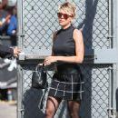 Scarlett Johansson Arriving At Jimmy Kimmel Live In Hollywood