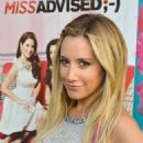 Ashley Tisdale held a viewing party of her new Bravo TV show Miss Advised last night, June 18, at Planet Dailies & Mixology 101 in Los Angeles. She is an executive producer for the show