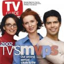 Tina Fey, Cynthia Nixon - TV Guide Magazine Cover [United States] (9 March 2002)