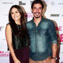 Zuria Vega and Alberto Guerra