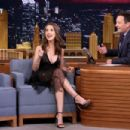 Alison Brie The Tonight Show Starring Jimmy Fallon In Nyc