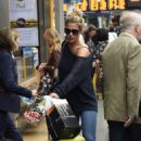 Gemma Atkinson – Arriving into Manchester Piccadilly train station - 454 x 731