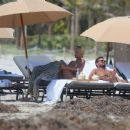 Sofia Richie – In Bikini top in Miami Beach