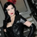 Dita Von Teese - Christian Dior Haute-Couture Show As Part Of The Paris Fashion Week Spring/Summer 2010 At Boutique Dior On January 25, 2010 In Paris, France